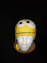 Hand Crocheted Child Emoji Hat - $14.00