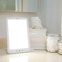 Vive Sun Lamp - Therapy Light 10,000 Lux Box - White Yellow LED Artificial Sunsh