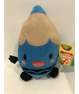 "Crayola Blue Crayon Crayons Plush Toy 9.5"" New W1E - $13.95"