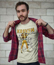 Kraven Hunter T-shirt retro comic villain marvel comics sinister six graphic tee image 3