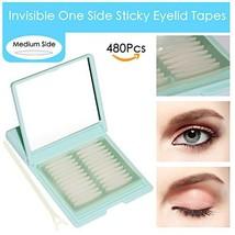 Medical-use Fiber Eyelid Tapes - 480Pcs/240 Pairs Invisible Single Side ... - $9.55