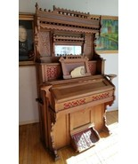 Antique Victorian Collins & Armstrong Pump Parlor Organ Intricate Ornate - $1,158.30