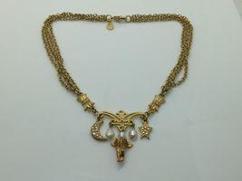 KIRKS FOLLY Angel Moon Star Pearls 4 Strand Gol... - $55.00