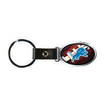 Non Metal Nfl Detroit Lions Accent Key Ring By Rico Industries (Length=1.25) [Gc - $12.32