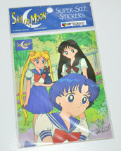 Sailor Moon jumbo super size stickers sticker vintage Artbox USA 1999 - $4.94