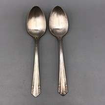Vintage Spoon Silver Plate Wm. A Rogers Oneida A1 Plus Lot of 2 - $4.94