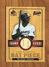 "2001 Ud Sp Top Prospects #B-MJ ""Michael Jordan"" Game Used Bat Piece Card - $34.60"