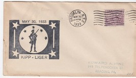 KIPP-LIGER BROOKLYN NEW YORK MAY 30 1933  - $1.98