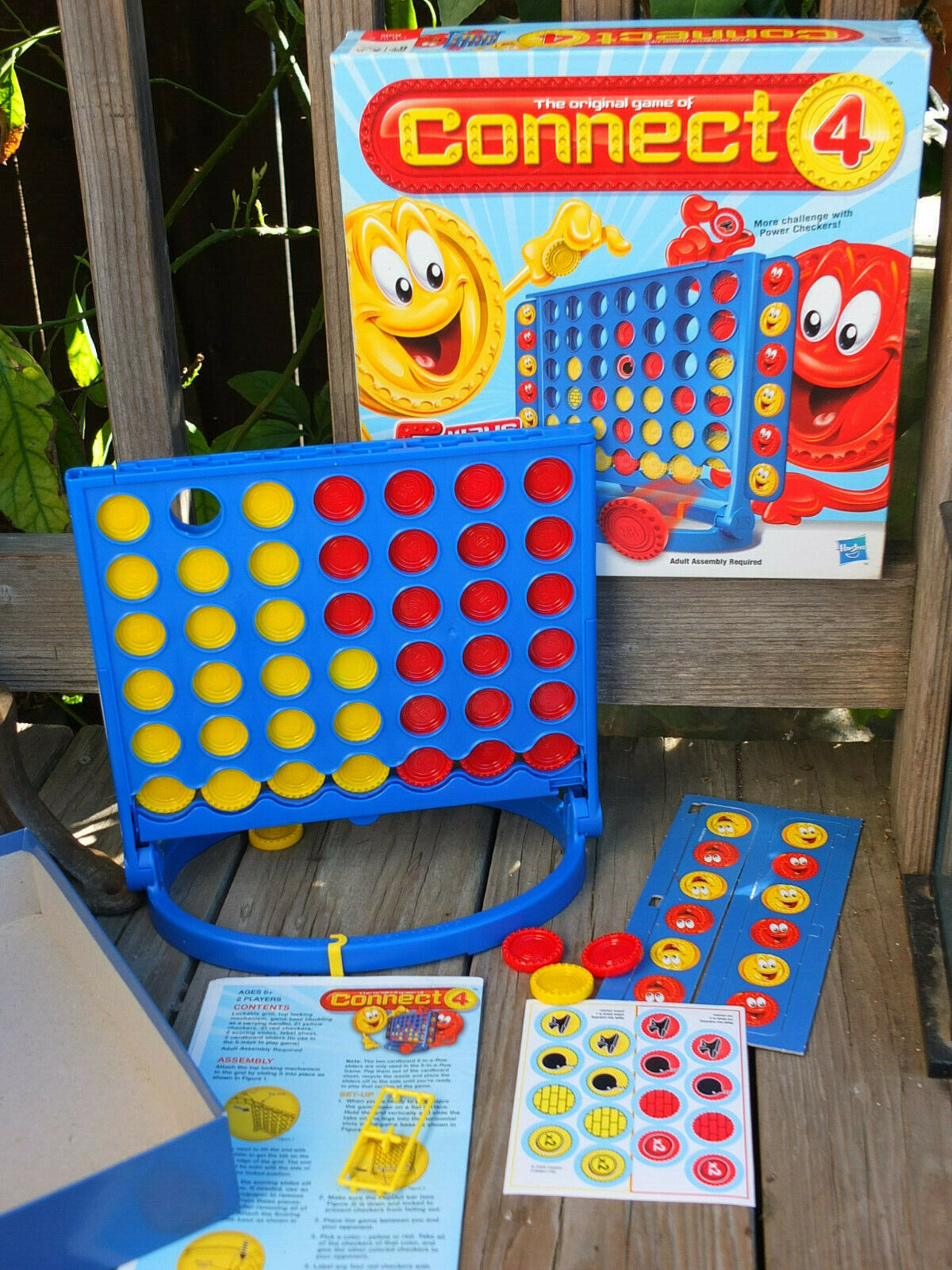 Primary image for CONNECT 4 ~ Original 2009 5 Ways to Play Board Game HASBRO ~ NICE