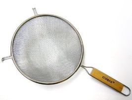 Winco MS3A-8D Strainer with Double Fine Mesh, 8-Inch Diameter, Set of 3 - $23.48