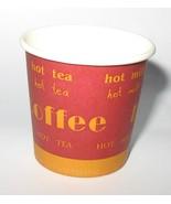 100 DISPOSABLE ESPRESSO COFFEE PAPER CUPS 4oz 110ml - $10.99