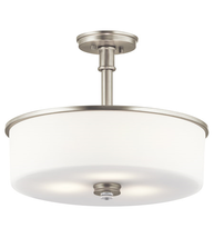 Kichler 43925NI Joelson Pendants 18in Brushed Nickel Steel 3-light - $209.99