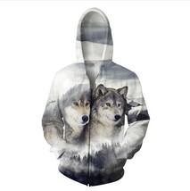 2018 Wolf Ridge Zip-Up Hoodie Women Men Sport Tops Fashion Clothing Outfits Jump - $58.96