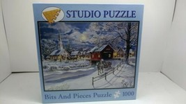 Bits And Pieces Puzzle 1000 Jess Hager Winter Sleigh - $29.99