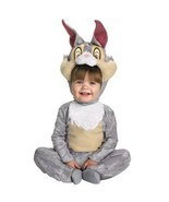 Rabbit Costume Baby Toddler 12-18 Months Bambi Costume Thumper Disney Co... - $19.23 CAD