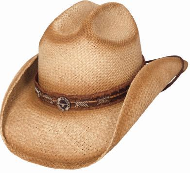 Primary image for Bullhide Run A Muck Trailboss Panama Straw Cowboy Hat Cattleman Crown Natural