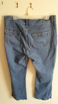 Petite Boot Cut Riders By Lee Jeans, Mid-RIse Med wash Size 18 image 6