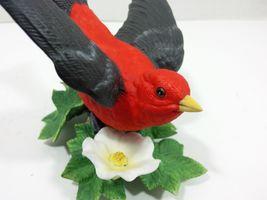 THE LENOX GARDEN BIRD COLLECTION Scarlet Tanager (Fine Porcelain 1992) image 8