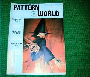 Pattern World, October 1978, Variety  of Needlecrafts