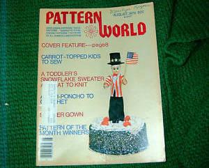 Pattern World, August 1978, Variety  of Needlecrafts
