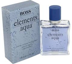 Hugo Boss Aqua Elements Cologne 3.4 Oz Eau De Toilette Spray  image 1