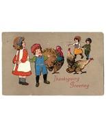 Vintage Thanksgiving Postcard E.B.C. 1814 Saxony - $14.95