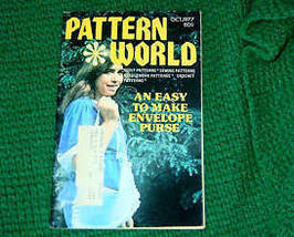 Pattern World, October 1977, Variety  of Needlecrafts - $3.00