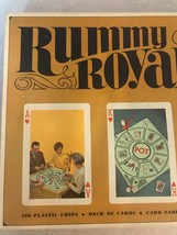 Vintage Rummy Royal Game By Whitman 1965 Board Game, Card Game - $24.19