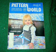 Pattern World, April 1978, Variety  of Needlecrafts - $3.00
