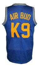 Air Bud K9 Timberwolves Basketball Jersey New Sewn Blue Any Size image 2