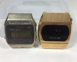 Phasar 2000 And Phasar 3000 Watches Vintage LED Parts / Repair - $32.18