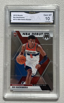 2019 - 2020 Panini Mosaic NBA Debut Rui Hachimura RC GMA 10 Same as PSA ... - $24.74