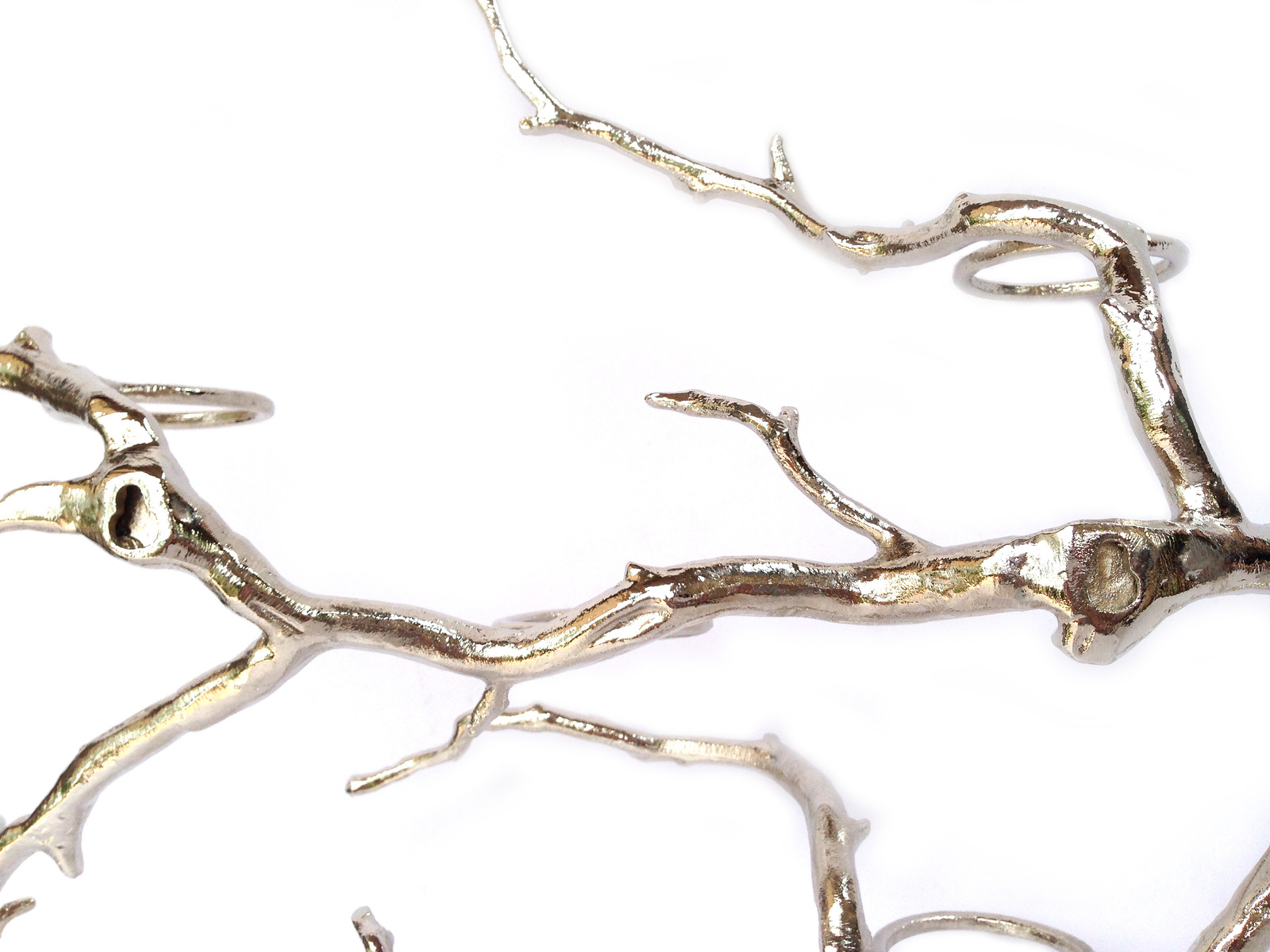 Rustic Tree Branch Candle Holder Wall Candle Holder Manzanita Tree Candle Holder image 4