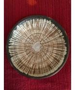 "Stoneware Pottery Bowl Brown Tones 9.5"" x 2"" - $22.86"