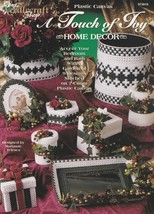 A Touch of Joy, The Needlecraft Shop Christmas Plastic Canvas Pattern 97... - $3.95
