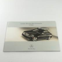 2007 Mercedes-Benz C-Class Accessories Dealership Car Auto Brochure Catalog - $14.20