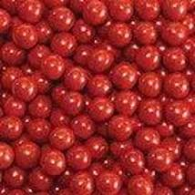 Sweetworks Brand Red Sixlets; 10 Lbs. Bag - $43.39