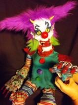 Demon Clown Ventriloquist Dummy Doll Halloween Horror Puppet Zombie Coll... - $326.34