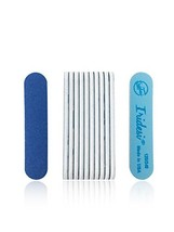 Iridesi Professional Mini Blue Finger Nail Files 120/240 Washable Emery ... - $8.06