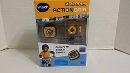 VTech Kidizoom Action Cam - Yellow Black Color LCD Screen 2.5hrs recording New - $28.57