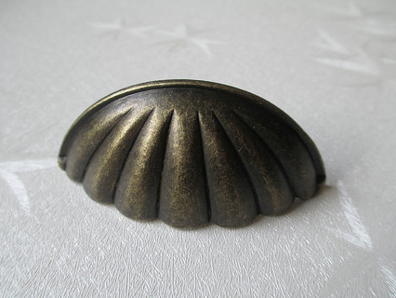 "2.5"" Vintage Look Dresser Pull Drawer Pulls Antique Bronze Cabinet Handles"