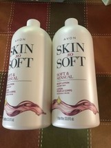 Lot Of 2 Skin So Soft Bonus-Size Soft & Sensual Body Lotion 1 liter each. - $37.61