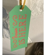 Jesus is Here Christmas Decoration - $1.00