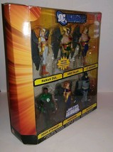 JUSTICE LEAGUE UNLIMITED ATTACK FROM THANAGAR 6 FIGURE SET PARAN DUL DC ... - $76.67