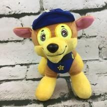 Nickelodeon Paw Patrol Police Dog Chase Plush Stuffed Animal Spin Master Toy - $9.89
