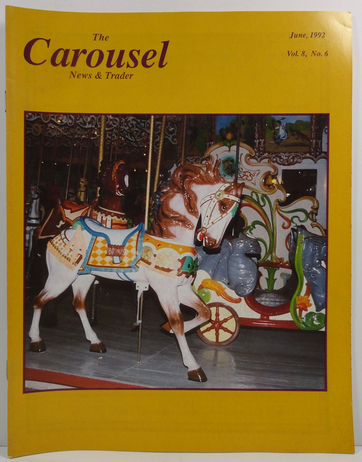 Primary image for The Carousel News and Trader June 1992