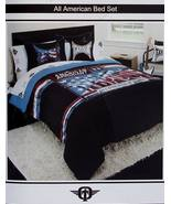 ,TAPOUT ALL AMERICAN QUEEN COMFORTER SHEETS SHAMS PILLOW 8PC BEDDING NEW  - $145.96