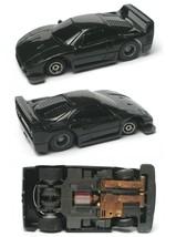 1992 Tyco Tcr Wide Pan Ferrari Basic Black F-40 F40 Slot Less Car Unused Sharp! - $22.76