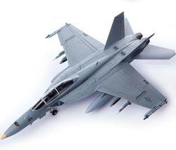 Academy 12567 USN F/A-18F VFA-2 Bounty Hunters Plamodel Plastic Hobby Model image 3