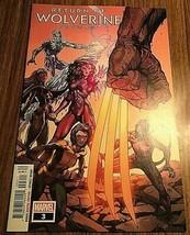 Marvel Comics Return of Wolverine #3 - $3.17